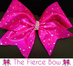 CheerBling Fierce Cheer Bow