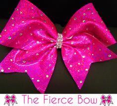 CheerBling Fierce Cheer Bow