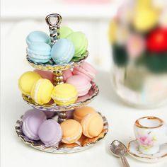 1pcs Random Dollhouse Miniature Food Dessert Snack French Macaron 1:12 Scale | Dolls & Bears, Dollhouse Miniatures, Food & Groceries | eBay!