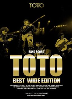 """Band score """"TOTO"""" Wide Version Score Sheet Book 17 Songs 240 Pages Japan F/S"""