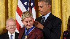 11 The Presidential Medal Of Freedom Awards Ceremony 2016 Ideas Awards Ceremony Ellen Degeneres Presidential