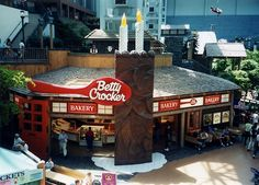 Did you ever visit the Betty Crocker store at Minnesota's Mall of America?