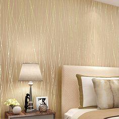Modern 3D Wallpaper Stripe Wall Paper Papel de Parede damask Wall Paper for Bedroom Biving Room  TV Sofa Background