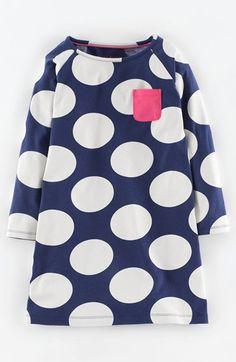 Mini Boden 'Fun Spot' Jersey Dress (Toddler Girls, Little Girls & Big Girls) | Nordstrom