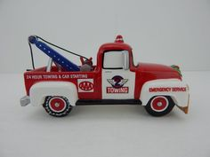 Dept 56 The Original Snow Village Service Vehicle AAA Tow Truck #54959 New #Department56
