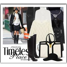 Timeless Black and White by absolutelyunique, via Polyvore