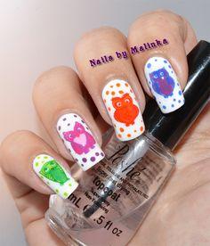 Nails by Malinka: BP-X14 uilen