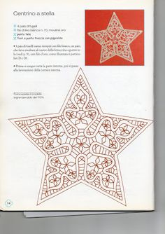 Natale a fuselli - anna maria Lambruschi - Picasa Albums Web Bobbin Lace Patterns, Bead Loom Patterns, Star Patterns, Lace Earrings, Lace Jewelry, Hairpin Lace Crochet, Crochet Edgings, Crochet Motif, Crochet Shawl
