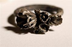 Ring by REBECCA CHALKLEY-UK
