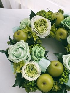 preserved flower and fruits to make a nice spring and summer wreath