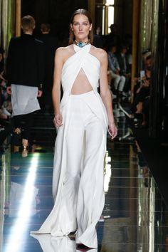 Josephine Le Tutour - Balmain Spring 2017 Menswear Fashion Show