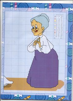 Granny w/ Sylvester & Tweety 2 of 2