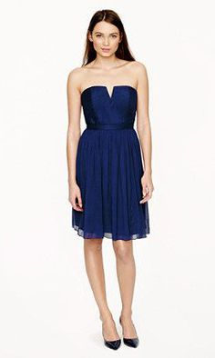 Nadia dress in silk chiffon - A Very Secret Pinterest Sale: 25% off any order at jcrew for 48 hours with code SECRET