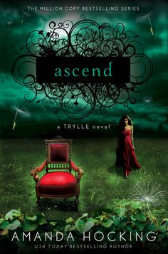 Ascend by Amanda Hocking. I read this trilogy when I was in 8th grade and I really enjoyed it!