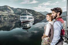 © SalzburgerLand Tourismus, Johannes Felsch - Plavba po Zeller See Best Hotel Deals, Best Hotels, Zell Am See, Nordic Walking, Hotel Reviews, Amalfi, Austria, Couple Photos, Kaprun