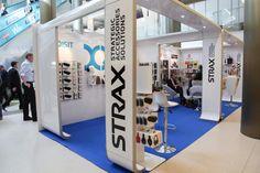 Au salon MEDPI 2014, Strax a habillé son stand avec ClaerStyle...