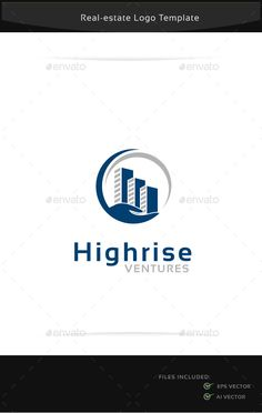 Buy Highrise Ventures Logo Template by on GraphicRiver. An excellent logo template which is perfect for real estate company WHAT IS INCLUDED: EPS vector file Adobe Ill. Logo Design Template, Brochure Template, Logo Templates, Real Estate Branding, Real Estate Logo, Skyline Logo, Logo Branding, Branding Design, Building Logo