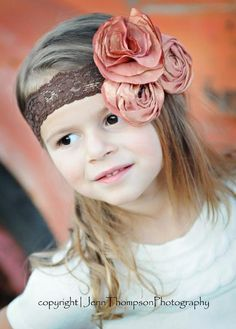 Flower Headbands - Flower Tutorials