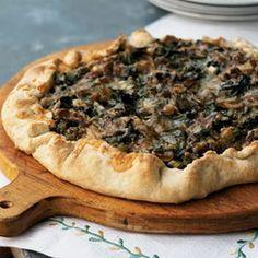 morel mushroom pizza