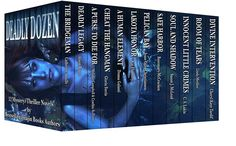 Deadly Dozen is a collection of 12 full length mystery and thriller novels which make a great gift for the book lover.