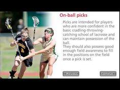 18 Womens Lacrosse Settled Offense