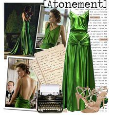 atonement movie | Atonement-Green dress - Polyvore
