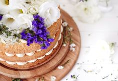 Lemon and flora layer cake - Real Recipes from Mums