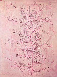 Paul Klee, Pink Spring in Deep Winter on ArtStack #paul-klee #art
