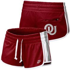 14407071 #FanaticsSummerWishList Nike Oklahoma Sooners Ladies Crimson Anywhere  Everywhere Training Shorts Oklahoma Sooners Football, Boomer