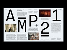 AMP Overview – Layout by Marko Cvijetic on Dribbble Ui Design, Layout Design, Thing 1, Photographer Portfolio, Print Layout, User Interface Design, Editorial Design, Cool Designs, Typography