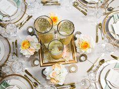 #GreatGatsby Theme Table #Wedding #WilliamsSJ www.willparty.com @deyoungflowers