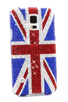 British Flag Design Bling case cover | Samsung galaxy note 4 cases handmade design. http://luxaddiction.com/collections/flat-designs/products/british-flag-design-style-927