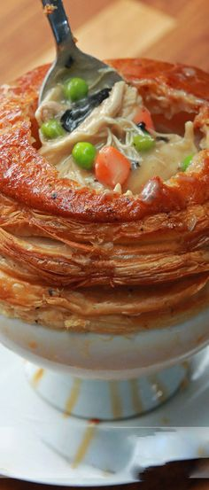 Chicken Pot Pie as Made by Chef Wolfgang Puck : buzzfeed #recipe