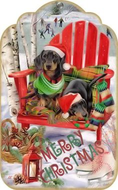 Brocante Brie, kersthondjes Christmas Gift Box, Christmas Clipart, Christmas Gift Tags, Christmas Love, A Christmas Story, Christmas Signs, Christmas Printables, Christmas Pictures, Vintage Christmas
