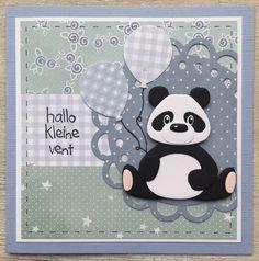 Ik vond het wel weer eens tijd voor een flinke dosis Panda- schattigheid hier op mijn blog! Voor beide kaarten zijn in principe de...