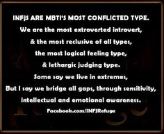 INFJ-This puts in words what I feel.