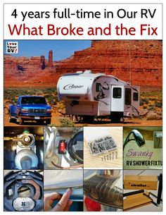 I'm pretty impressed with how the trailer has held up considering it really isn't designed for full time RVers, but more of a weekenders rig. Like all RVs though we have had our share of mechanical failures and broken items. I thought it was a good time to look back and list what broke and how it was fixed. - http://www.loveyourrv.com/what-repairs-has-our-keystone-cougar-trailer-needed-in-4-years/