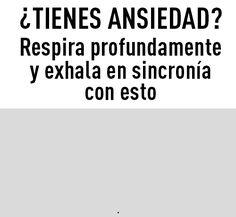 SABIENS. ÚLTIMAS NOTICIAS. INFORMACIÓN.: Trucos anti-Ansiedad