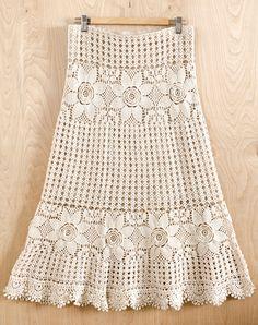 Boho Skirt - Purchased Crochet Pattern - (irishcrochetlab)
