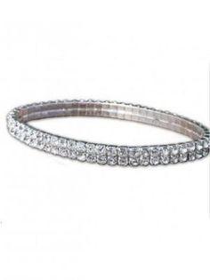 Clear Crystal Bracelet via myLusciousLife.com.jpg