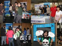 AIESEC SFU clubs day booths #recruitment #ROC