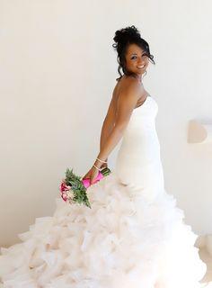 Caribbean Chic Wedding in Antigua Photographer:http://keithcephus.com/ #thebride #naturalbride #wedding
