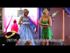 Singing Princess Character Parties Santa Rosa Sonoma Marin Napa County San Francisco Sacramento visit us at www.amazingfairytaleparties.com