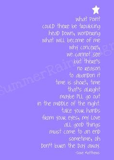 Pig lyrics DMB