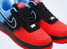 nike air force 1 spiderman 1 Nike Air Force 1 Spiderman