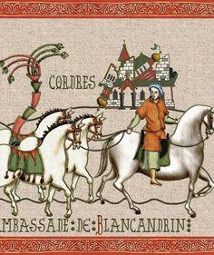 La Chanson de Roland, page 2, Marsile est à Saragosse, Ambassade de Blancandrin, Offre de paix, Conseil de Charlemagne Normand, Carolingian, Held, King Charles, Texts, Medieval, Battle, Literatura, Libros