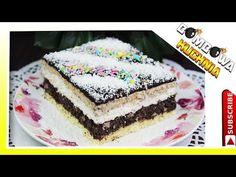 🍰ŚNIEŻNY MAKOWIEC - BOMBOWA KUCHNIA🍰 - YouTube Vanilla Cake, Desserts, Christmas, Food, Youtube, Bakken, Tailgate Desserts, Xmas, Deserts