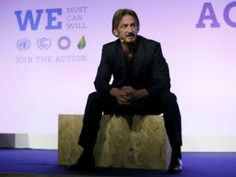 Vidéo .Sean Penn électrise l'ambiance à Paris !!! • Hellocoton.fr