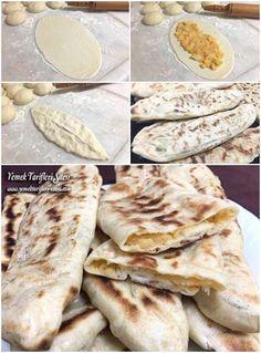 Kolay Tava Pidesi Tarifi – Amazing World Food and Recipes Turkish Recipes, Italian Recipes, Beef Recipes, Healthy Recipes, Greek Cooking, Cooking Time, Healthy Eating Tips, Healthy Nutrition, Cinnamon Bread