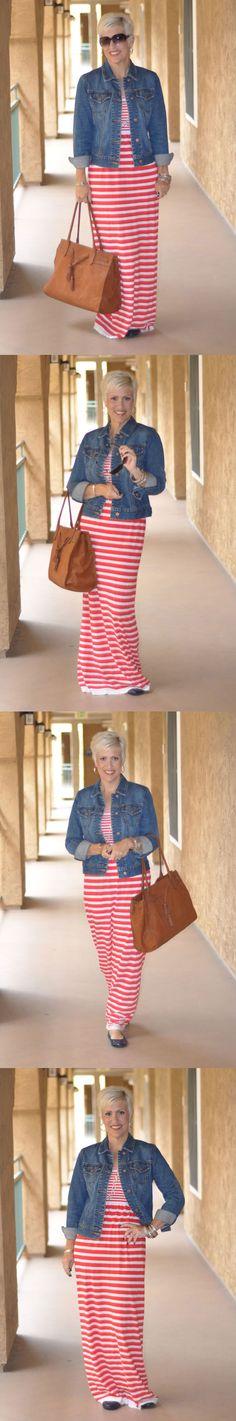 Be Inspired :: Feel Good :: Maxi Dress Take 2:: Choose everyday to Dress With Purpose! www.dresswithpurpose.com